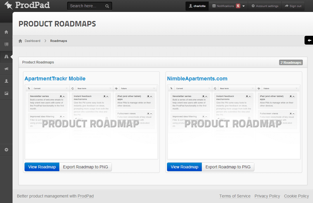 Big redesign now live Product Management Software ProdPad – Roadmap Tool