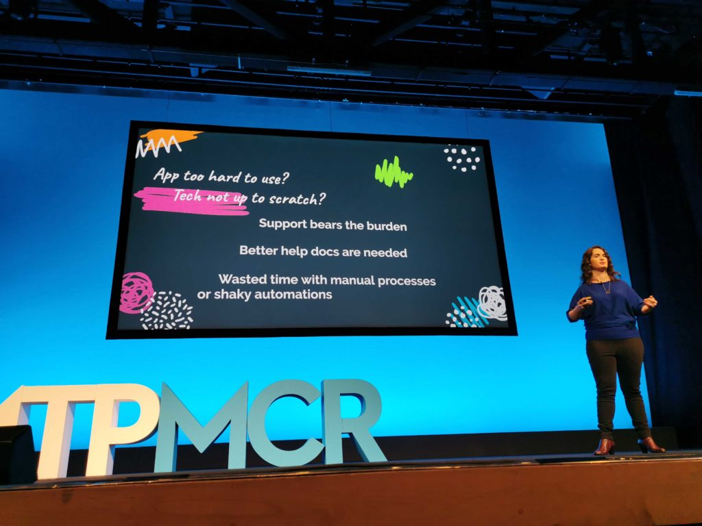Janna Bastow Presents at MTP Engage, Manchester 2