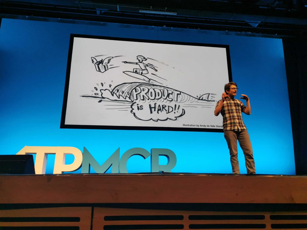 John Cutler Presents at MTP Engage, Manchester 1