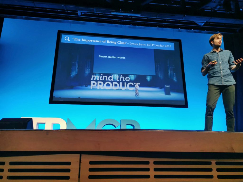 Shaun Russell Presents at MTP Engage, Manchester 3