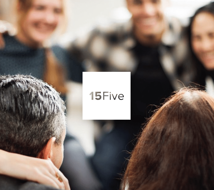 15Five logo and people